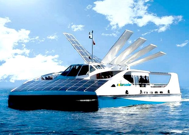 Solar Sailor, the original project vessel