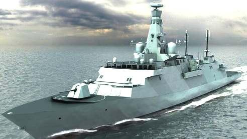 Global Combat Ship Uk Royal Navy Type 26 Frigate