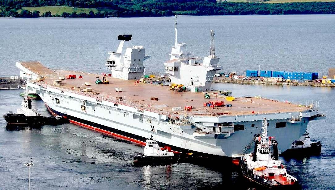 British Aircraft Carrier Queen Elizabeth British Aircraft Carri...