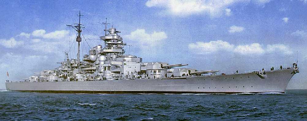 The Bismark German World War Two Battleship