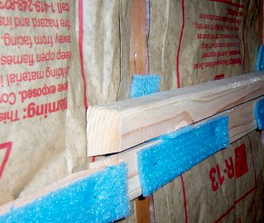 Sound Proof Insulation George Our During An Extensive Removal Or Blownin Insulation All