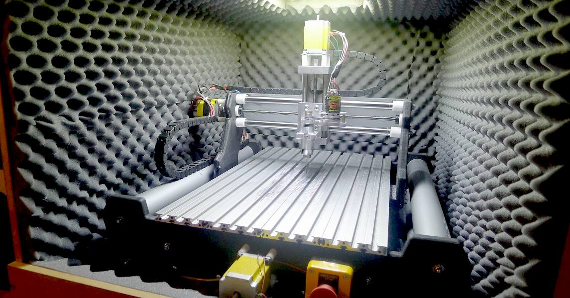 Sound proofing your robot for silent running designs solutioingenieria Gallery