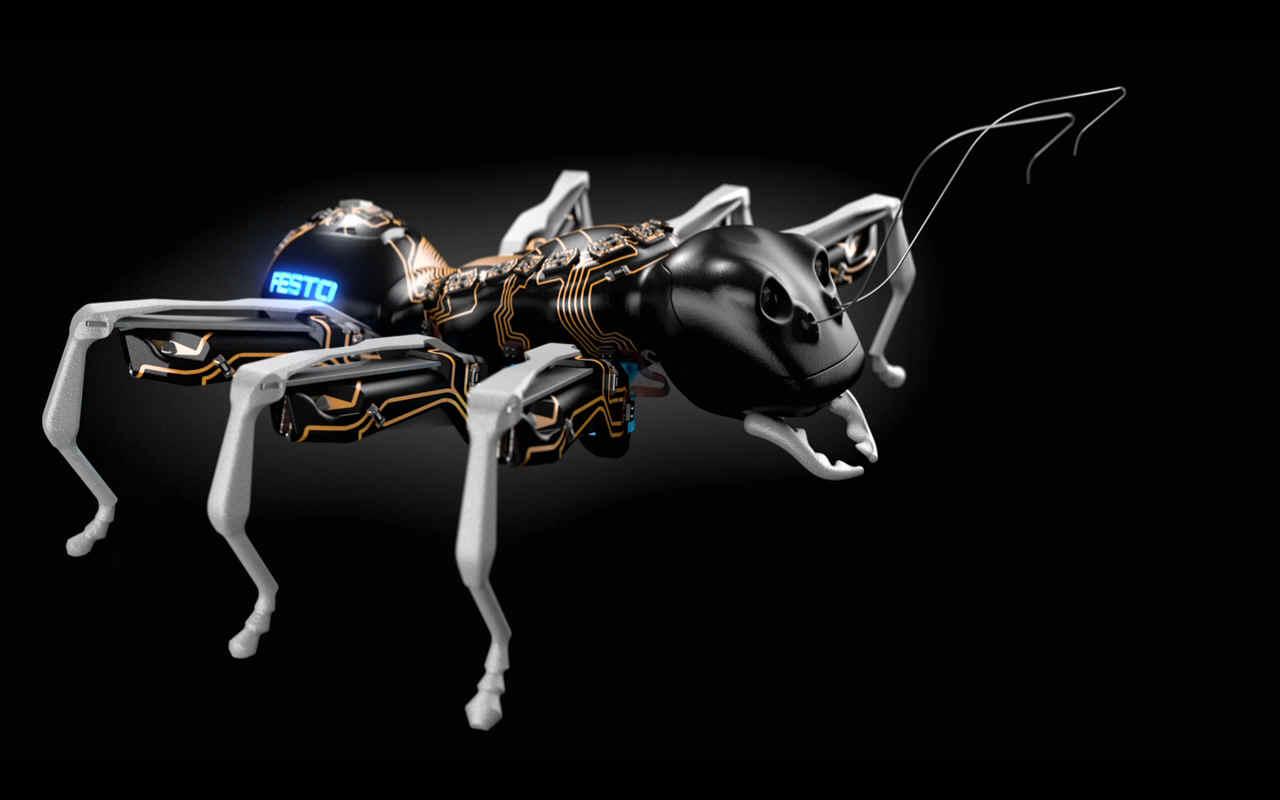 Ants_Bionics_Animatronics_Festo_Exoskeleton_PCB Bulldog Security Wiring on