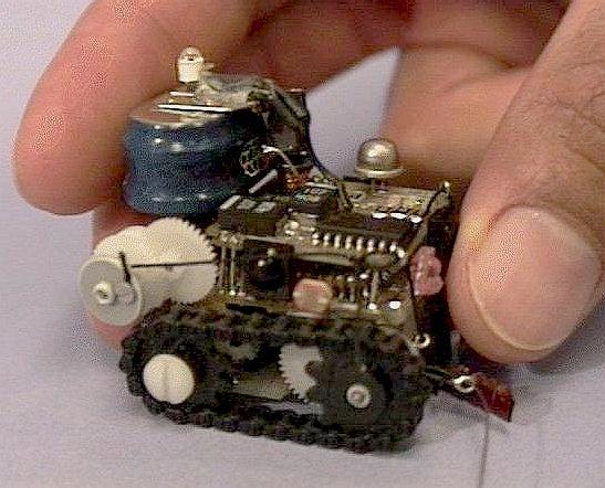 Микро роботы своими руками - Tetrasisnn.ru