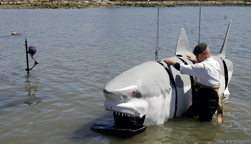 Sharks Animatronics Marine Robots Submarine Fish Toys Mechatronics
