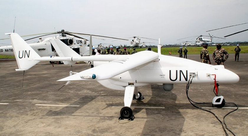 United Nations drone aircraft, unmanned aerial vehicle