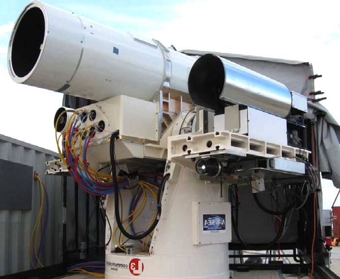 LAWS laser weapons system