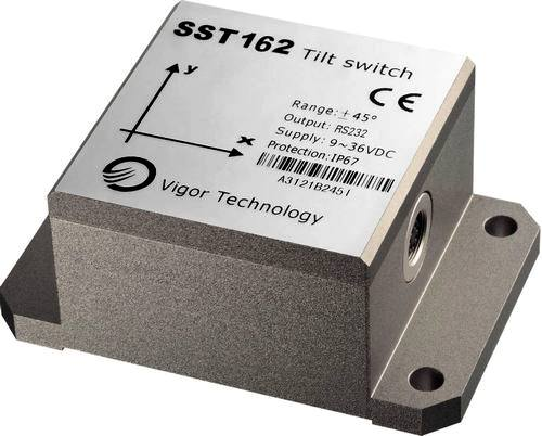 Dual axis analogue tilt switches - inclinometers SST 162