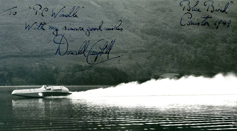 Bluebird K4 Coniston Water, Donald Campbell