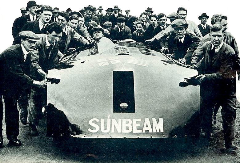Henry Segrave S Sunbeam World Land Speed Record Cars