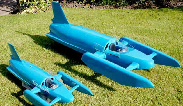 SCALE MODELS K7 GAS TURBINE BLUEBIRD WORLD WATER SPEED