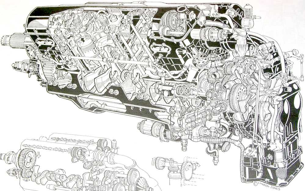 the rolls royce v12 r merlin engine jaguar v12 engine diagram W16 Engine Diagram