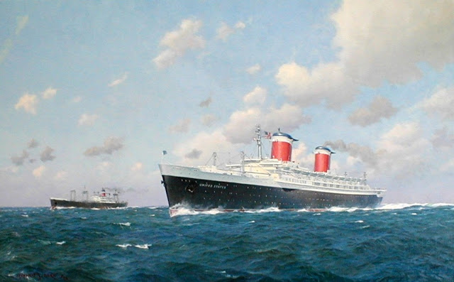 SS United States, Blue Riband record holder
