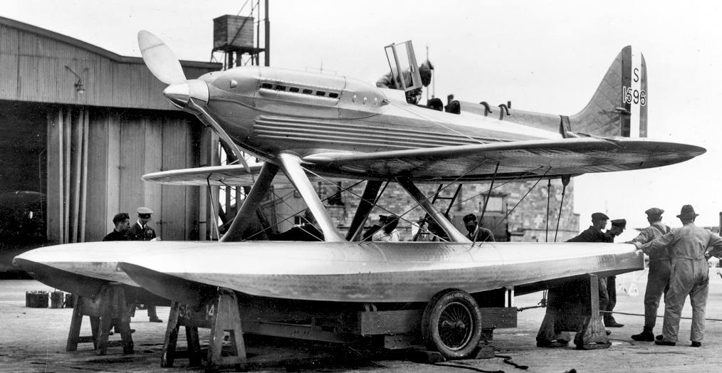 Mitchell designed Supermarine aircraft