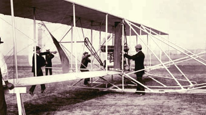 Orville and Wilbur Wright, the Wright Brothers in Berlin 1909
