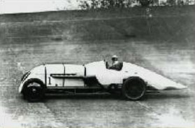 Parry Thomas at Brooklands