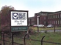 Blue bird toffee factory