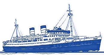 1920s Blue Riband ocean liner