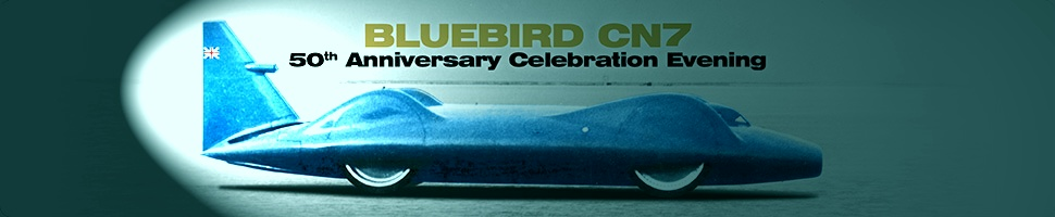 Bluebird land speed record 50th anniversary