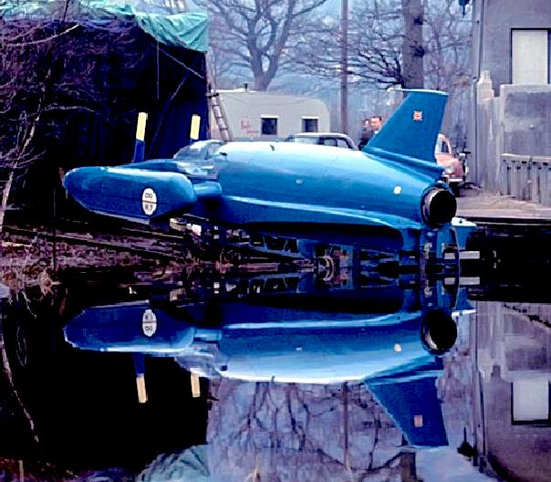 Bluebird K7 jet powered hydroplane