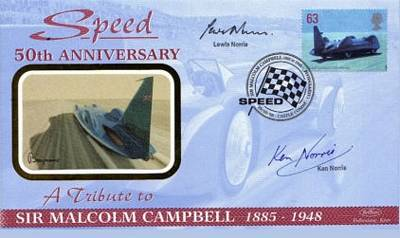 Bluebirds 50th anniversary of speed, a tribute to Sir Malcom Campbell