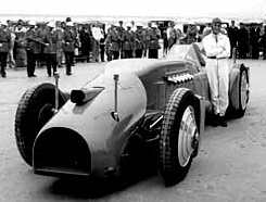 Bluebird Railton 1933 Daytona Beach