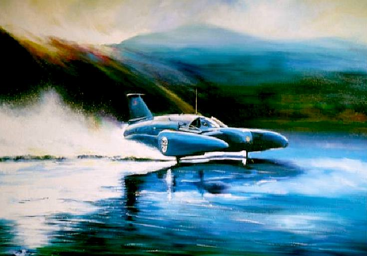 The Blue Bird K7 was jet powered - Donald Campbell CBE RIP