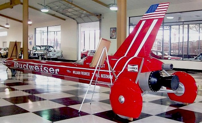 Land Speed Record >> BUDWEISER ROCKET CAR 1979 ANHEUSER BUSCH STAN BARRETT HAL ...