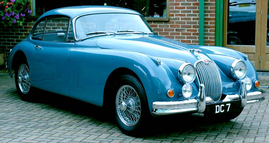 jaguar or bluebird Grace, pace and space with feline classic lines from jaguar.