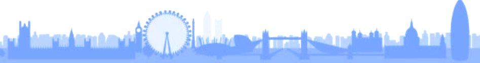 The City of London - famous landmarks along the River Thames