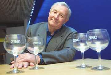 Sir Terence Conran zinc glasses