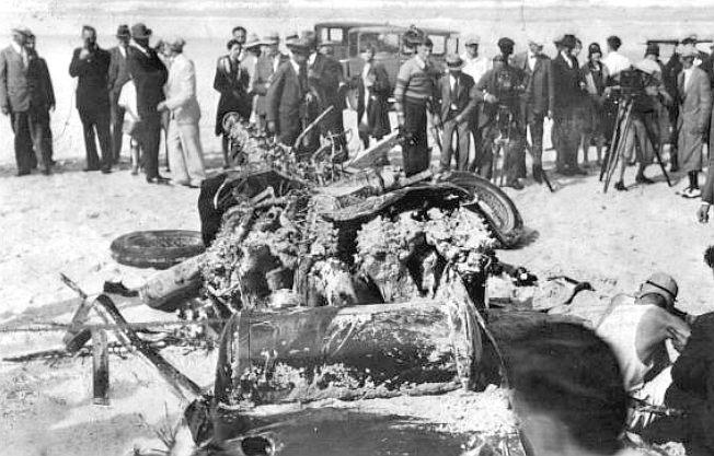 Helmuth Koinigg Death >> JIM WHITE TRIPLEX LIBERTY AERO ENGINED WORLD LAND SPEED RECORD CARS RAY KEECH LEE BIBLE