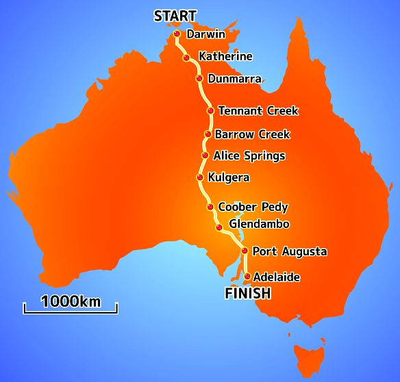 Darwin To Adelaide Electric Vehicle Endurance Challenges Cannonball