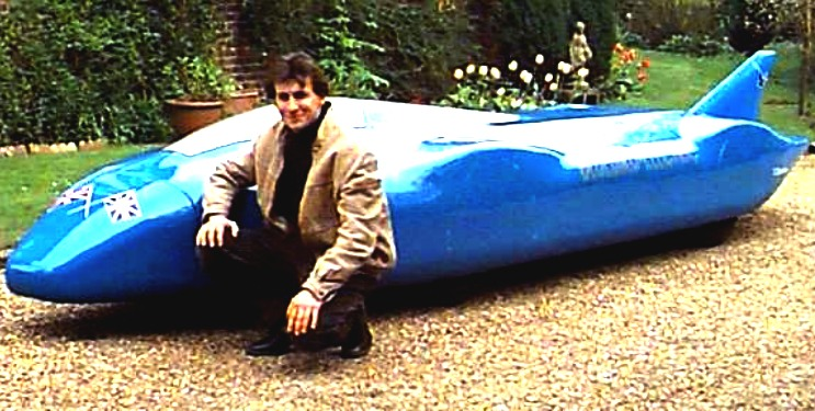 John Campbell and the BE2 battery electric land speed record car
