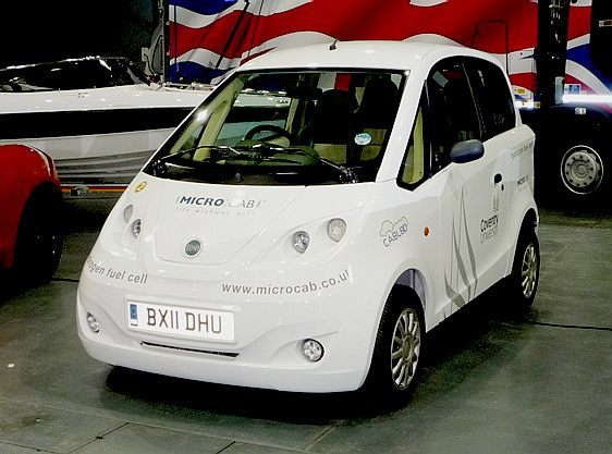 Coventry University - Micro Cab, hydrogen powered taxi