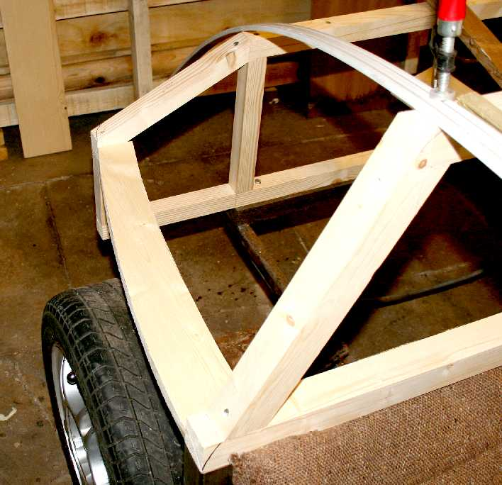 Wing Door Eco Car Gull Wing Doors Timber Steel Framed: CITY SPORTS CAR COACH WORK BUILD A TIMBER FRAMED WOODEN
