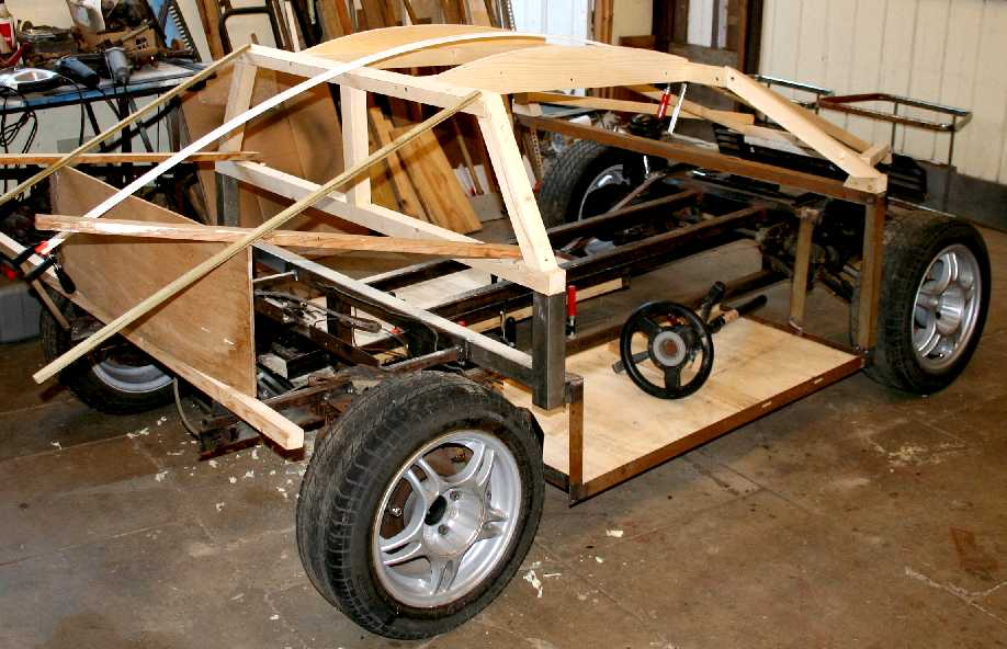 Eco Star City Sports Car Body Work Build Your Own