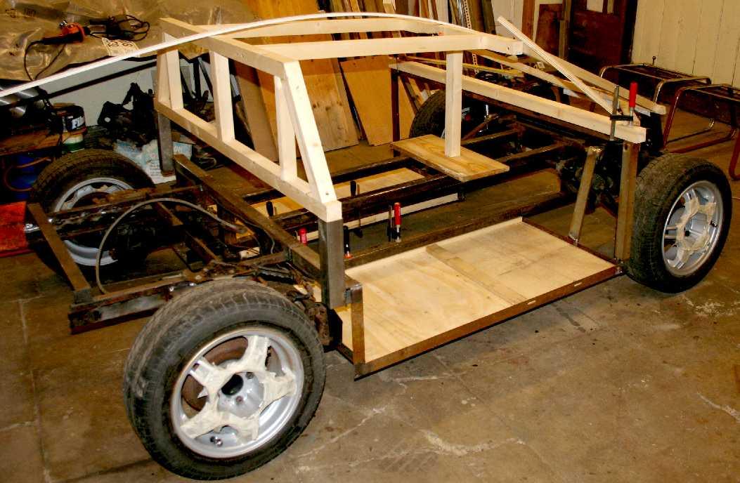 ecostar city sports car chassis welding build your own diy steel frame. Black Bedroom Furniture Sets. Home Design Ideas