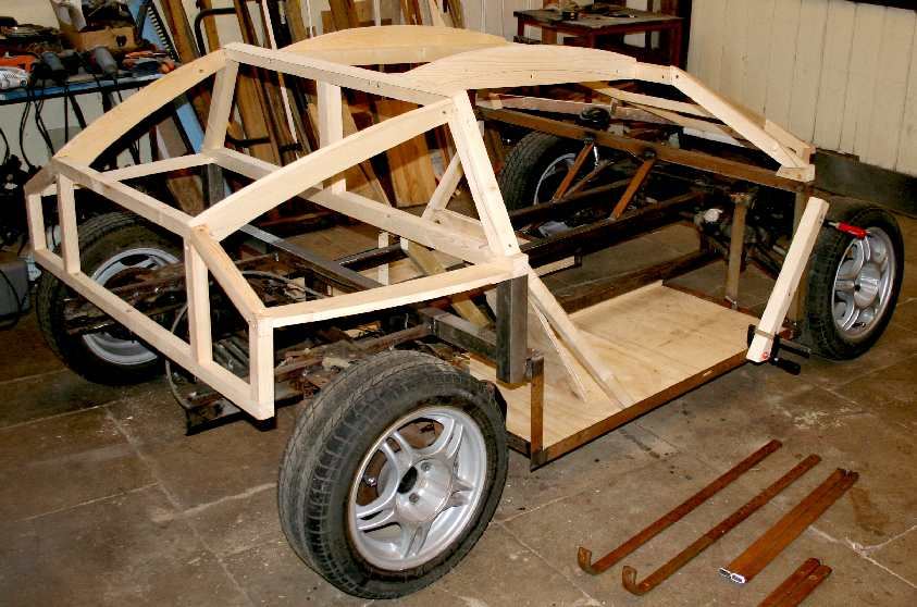city sports car coach work build a timber framed wooden diy electric dune buggy - Homemade Buggy Car Body Plans