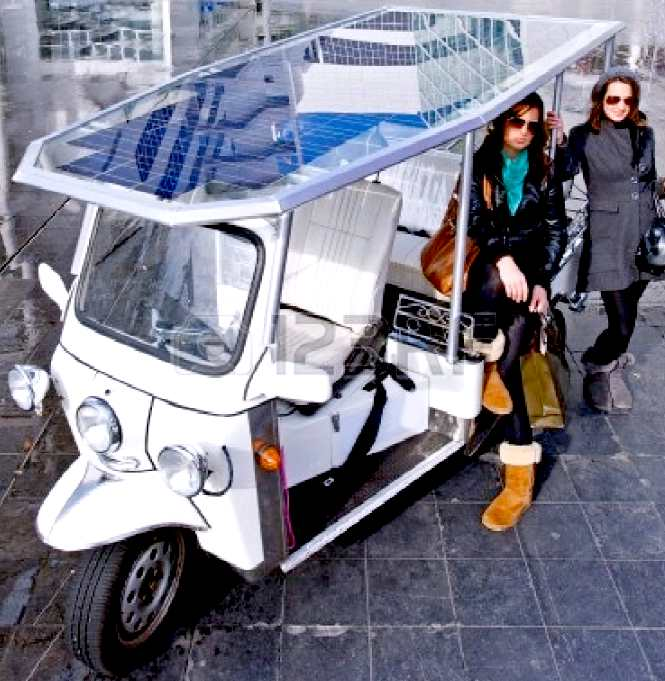 Ecokar Solar Powered Electric Rickshaw Design Study How To