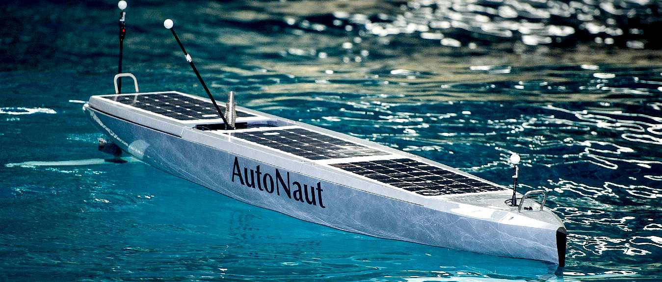 Autonaut 5m latest wave powered boat June 2016