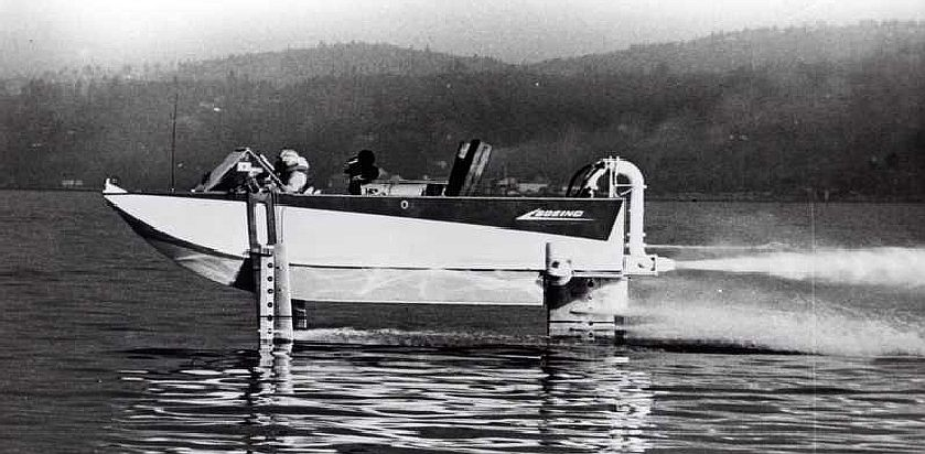 Small Jet Boats >> BOEING AQUAJET HYDROPLANE AND HYDROFOIL DEVELOPMENT US ...