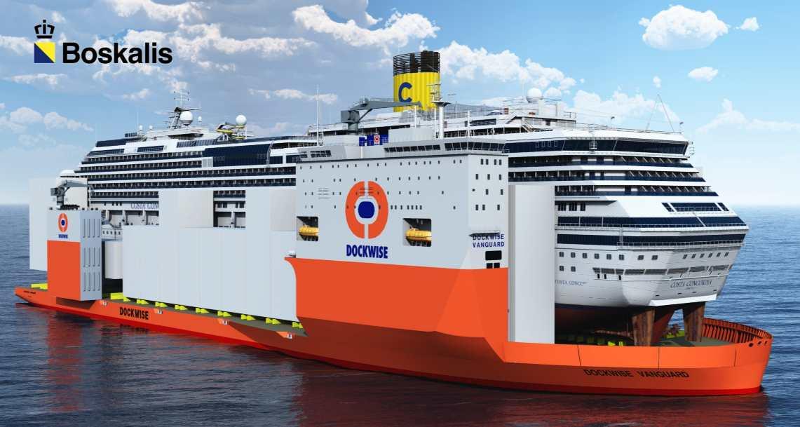 Raising Of The Costa Concordia Marine Salvage Operations
