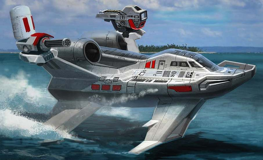 Military Hydrofoil Boat | www.imgarcade.com - Online Image Arcade!
