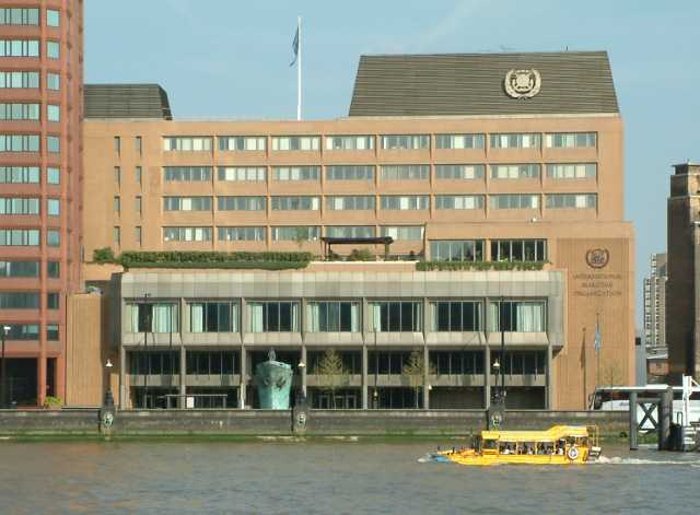 IMO, International Maritime Organization HQ, London, England.