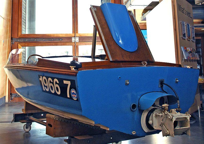 Donald Campbell Ken Norris Leo Villa Jetstar Waterjet