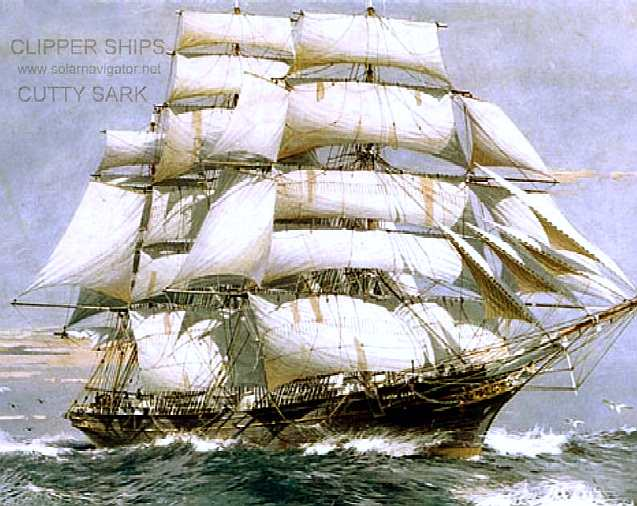 Clipper ships: The Cutty Sark