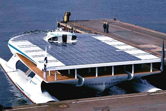Planetsolar, world's largest solar powered catamaran