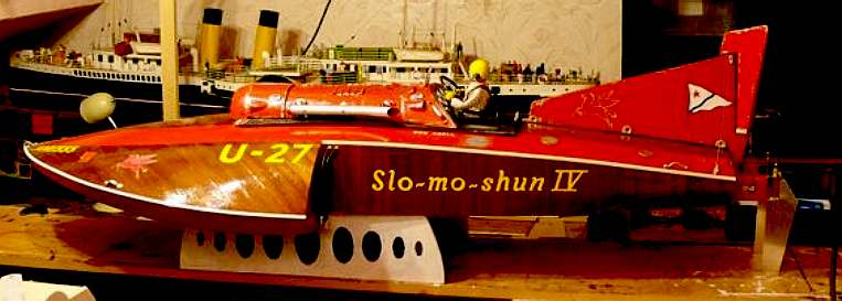 Slo Mo Shun World Water Speed Record Hydroplane