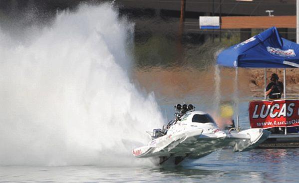 SPIRIT OF TEXAS RACING DRAG BOAT DAVID KIRKLAND WORLD'S FASTEST